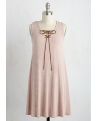 Hello Miss - Pink Catch My Shift? Dress - Lyst