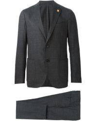 Lardini - Gray Two Piece Suit for Men - Lyst