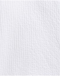 Zara | White Jacquard Sweatshirt | Lyst