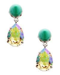 Givenchy | Green Earrings | Lyst