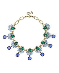 BaubleBar - Blue Rumba Gem Collar - Lyst