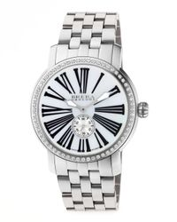 Brera Orologi - Metallic Valentina Ii Diamond Stainless Steel Watch Head 42mm - Lyst