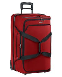 Briggs & Riley | Red 'transcend' Wheeled Duffel Bag for Men | Lyst