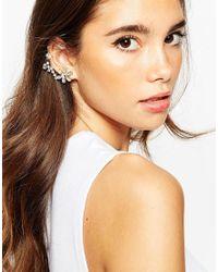ASOS | Metallic Occasion Ear Cuff | Lyst