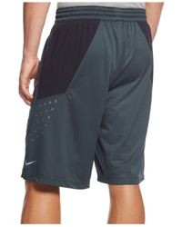 "Nike | Gray 12"" Hyper Elite Power Dri-fit Shorts for Men 