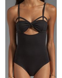 Fairground - Heart in A Cage Bodysuit in Black - Lyst