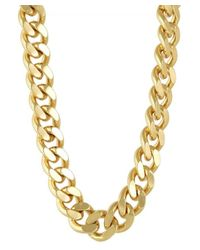 CC SKYE | Metallic The Streamliner Collar Necklace | Lyst