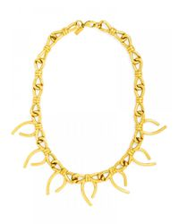 BaubleBar - Metallic Bow Collar - Lyst
