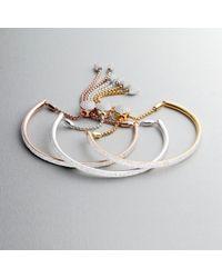 Monica Vinader - Metallic Fiji Full Diamond Bracelet - Lyst