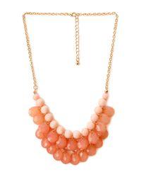 Forever 21 - Orange Dancing Hour Teardrop Necklace - Lyst