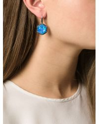 Stephen Webster - Blue Sapphire, Quartz And Diamond Earrings - Lyst