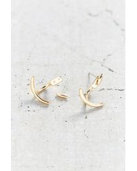 Urban Outfitters | Metallic In 'n Out Front/back Stud Earring | Lyst