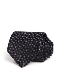 Saint Laurent | Black Spots Classic Tie - Bloomingdale's Exclusive for Men | Lyst