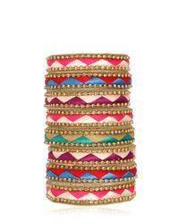 Deepa Gurnani | Red Fiesta Bonita Bracelet | Lyst