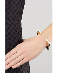 Jennifer Fisher - Metallic Square Gold-Plated Arm Block - Lyst