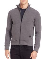 Victorinox | Gray Torrent Full-zip Sweatshirt for Men | Lyst