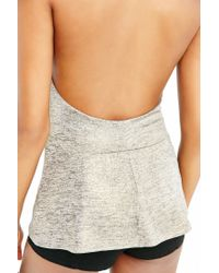 Kimchi Blue | Natural After Hours Surplice Tank Top | Lyst