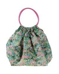 Red(v) - Green Handbag - Lyst