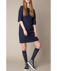 Mother Of Pearl | Blue Beverley Wool Dress | Lyst
