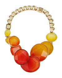Elie Saab - Orange Necklace - Lyst