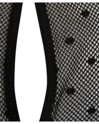 Rag & Bone   Black Sheer Polka Dot Charlotte Dress   Lyst