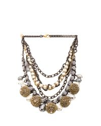 Erickson Beamon | Metallic Weeping Angels Necklace | Lyst