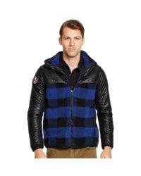 Polo Ralph Lauren - Blue Plaid Hybrid Jacket for Men - Lyst