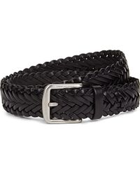 Mulberry | Black Braided Leather Belt - For Men for Men | Lyst