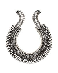 DANNIJO | Metallic Olivia Necklace | Lyst