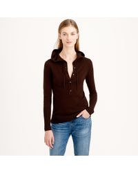 J.Crew - Natural Collection Cashmere Getaway Hoodie - Lyst