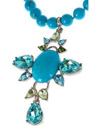 Oscar de la Renta - Blue Turquoise - Lyst
