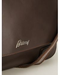 Brioni - Brown Classic Messenger Bag for Men - Lyst