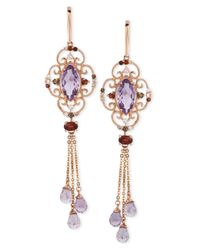 Le Vian - Pink Multistone Dangle Earrings In 14K Rose Gold - Lyst