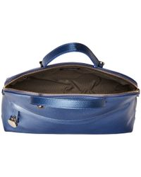 Furla | Blue Piper Large Dome | Lyst
