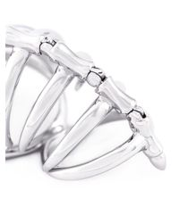 Stephen Webster | Metallic Long 'articulating' Knuckle Ring | Lyst