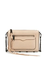 Rebecca Minkoff | Brown 'avery' Crossbody Bag | Lyst