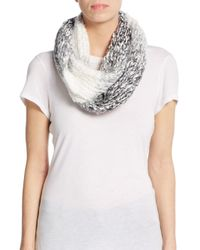 Saks Fifth Avenue | Black Soft Ombre Infinity Scarf | Lyst