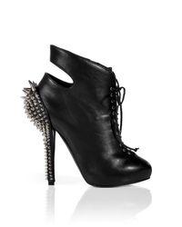 Giuseppe Zanotti - Black Studded Ankle Boots - Black - Lyst