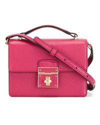 Dolce & Gabbana - Pink 'rosalia' Shoulder Bag - Lyst