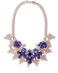 EK Thongprasert - Purple Giverny Garden Necklace - Lyst