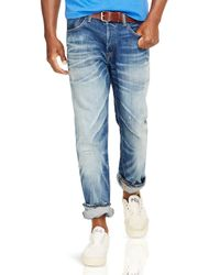 Ralph Lauren | Blue Polo Sullivan Slim-fit Bristol-wash Stretch Jeans for Men | Lyst