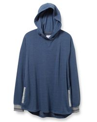 Alternative Apparel | Gray Light French Terry Shirttail Hoodie | Lyst