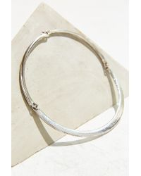 Urban Outfitters - Metallic Katie Cuff Necklace - Lyst