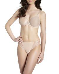 Simone Perele - Pink Caresse Basic Bikini Briefs - Lyst