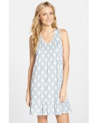 Lauren by Ralph Lauren | Natural Tank Short Nightgown | Lyst