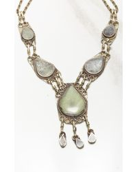 Natalie B. Jewelry | White All Choked Up Necklace | Lyst