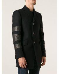 Vivienne Westwood - Black Panelled Sleeve Coat for Men - Lyst
