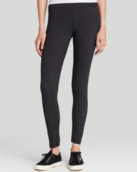 James Perse - Black Leggings - Basic - Lyst