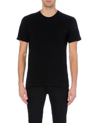 American Apparel | Black Patch Pocket Cotton T-shirt - For Men for Men | Lyst