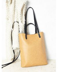 Free People - Natural Womens Captivated Bead Vegan Tote - Lyst